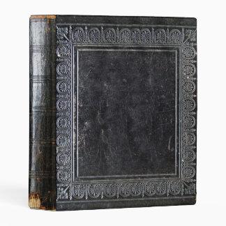 Libro antiguo negro de Falln Mini Carpeta
