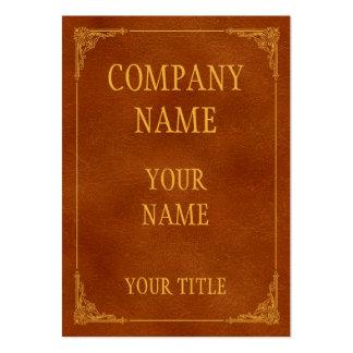 libro antiguo tarjetas de negocios
