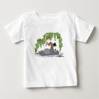Libro Baloo de la selva que soporta Mowgli Disney Camisas