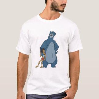 Libro Baloo y Mowgli de la selva que colocan Playera