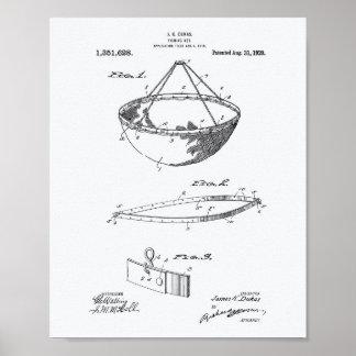 Libro Blanco del arte de la patente de la red de Póster