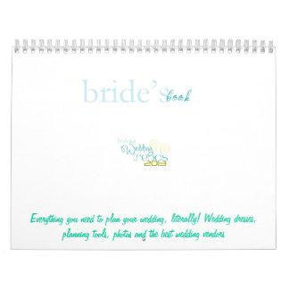 Libro Calander de las novias Calendarios