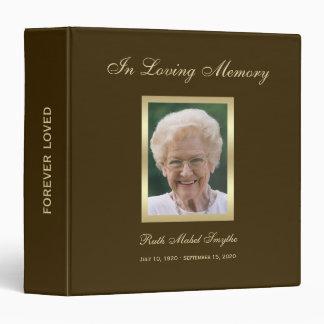 Libro conmemorativo de la conmemoración - carpeta