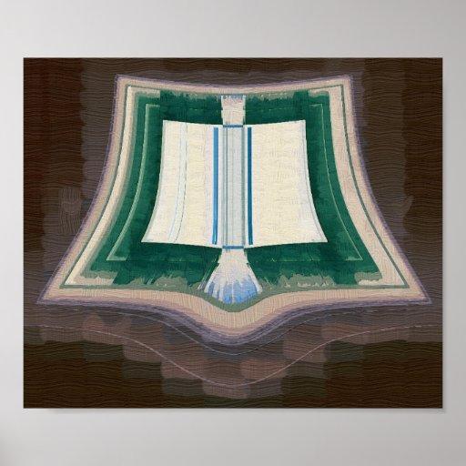 Libro de buenos encantos poster