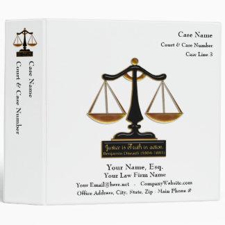 """Libro de caso del abogado (personalizado) carpeta 2"""""""
