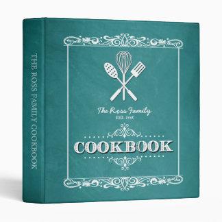 """Libro de cocina de la familia de la pizarra de la carpeta 1"""""""