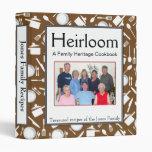 Libro de cocina de la familia - personalizar - BRO