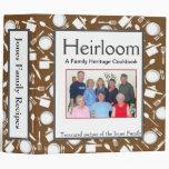Libro de cocina de la familia - personalizar BROWN