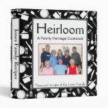 Libro de cocina de la familia - personalizar - NEG