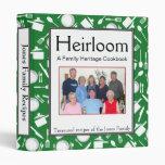 Libro de cocina de la familia - personalizar - VER