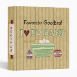 """Libro de cocina de la receta de la hornada de la carpeta 1"""""""