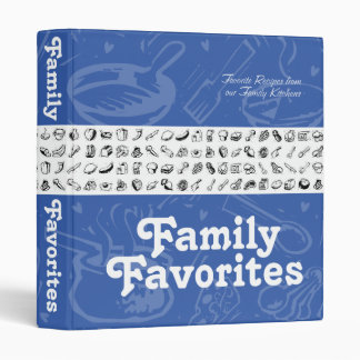 """Libro de cocina de los favoritos de la familia carpeta 1"""""""