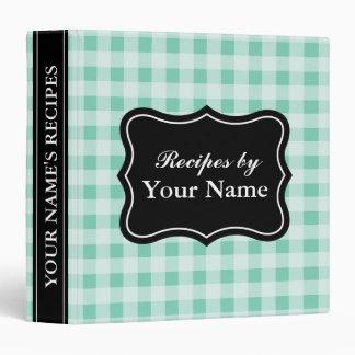 Libro de cocina personalizado el | de la carpeta