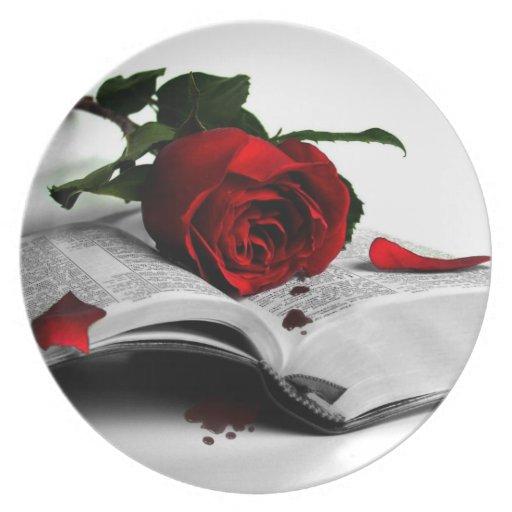 Libro de corazones quebrados platos de comidas