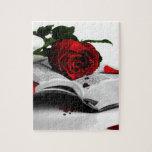 Libro de corazones quebrados puzzle con fotos