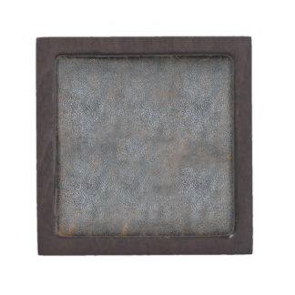 Libro de cuero apenado antigüedad caja de joyas de calidad