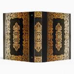 Libro de cuero viejo gótico