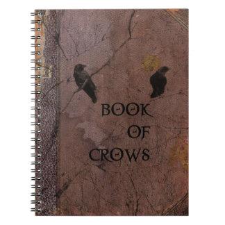 Libro de cuervos libros de apuntes