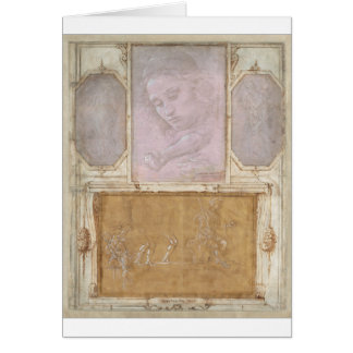 Libro de Disegni by Botticelli, Lippi, Vasari Card