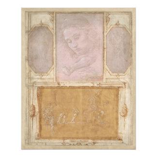 Libro de Disegni by Botticelli, Lippi, Vasari Photo Print
