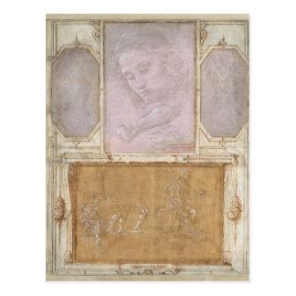Libro de' Disegni by Botticelli, Lippi, Vasari Postcard