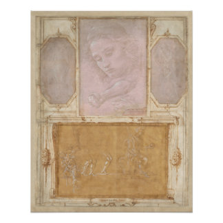 Libro de Disegni by Botticelli, Lippi, Vasari Poster