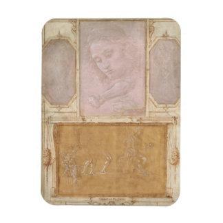 Libro de Disegni by Botticelli, Lippi, Vasari Rectangular Photo Magnet