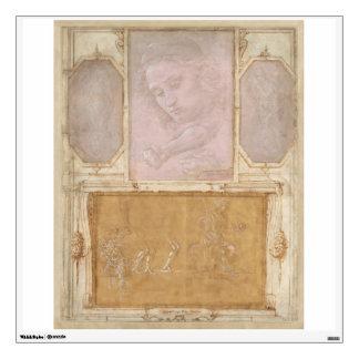 Libro de Disegni by Botticelli, Lippi, Vasari Wall Sticker