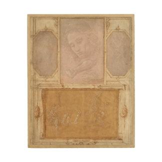 Libro de Disegni by Botticelli, Lippi, Vasari Wood Wall Art
