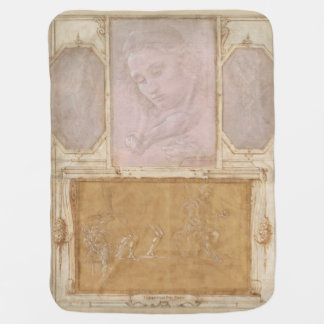 Libro de Disegni by Botticelli, Lippi, Vasari Receiving Blanket