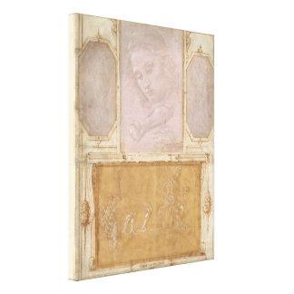 Libro de Disegni por Botticelli, Lippi, Vasari Lona Estirada Galerías
