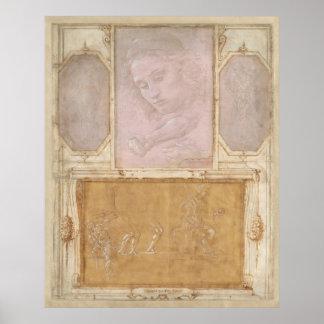 Libro de Disegni por Botticelli, Lippi, Vasari Póster