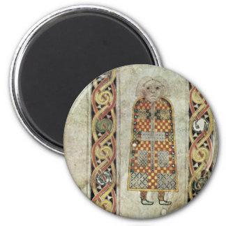 Libro de Durrow: Icono de Matthew por el libro O d Iman
