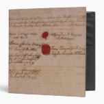 Libro de familia de Wolfgang, de Mozart y de Weber