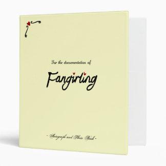 "Libro de Fangirling Carpeta 1"""