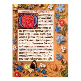Libro de Hasting de la postal de las horas