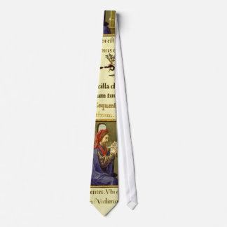 Libro de horas corbata personalizada