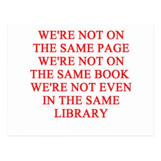 libro de la biblioteca postal