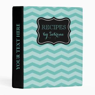 Libro de la carpeta de la receta de Avery del Mini Carpeta