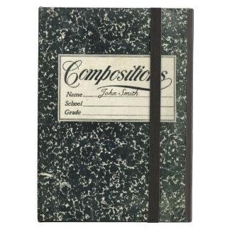 Libro de la composición de la escuela del vintage