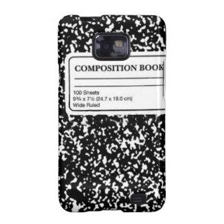 Libro de la composición galaxy SII carcasa