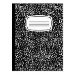 libro de la composición postales