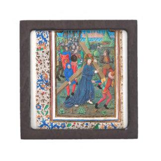 Libro de la crucifixión de las horas SR001 #2 de Cajas De Joyas De Calidad