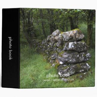 Libro de la foto de la pared Drystone