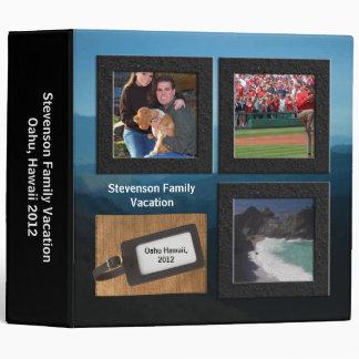 """Libro de la foto de las vacaciones de la etiqueta carpeta 2"""""""