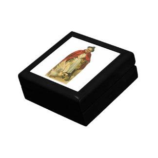 Libro de la historia de la mamá ganso del caja de regalo cuadrada pequeña