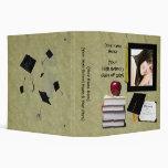 Libro de la memoria de la graduación personalizada