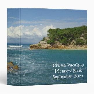"""Libro de la memoria de las vacaciones del paisaje carpeta 1 1/2"""""""