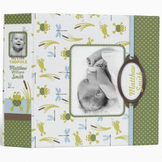 Libro de la memoria del bebé de la rana y de la li