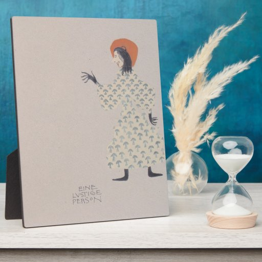 Libro de la Moser-Imagen de Koloman para la sobrin Placas De Madera